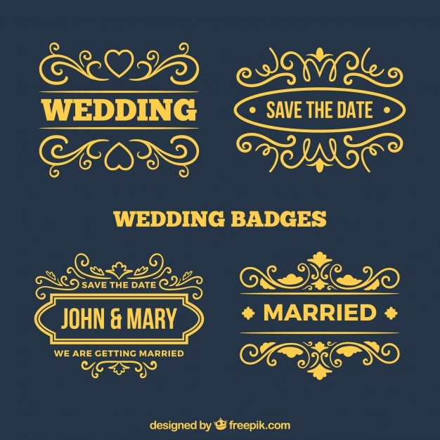 collection_of_elegant_golden_wedding_labels