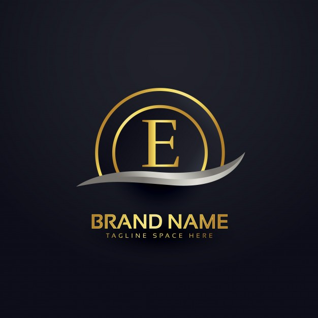 luxury_letter_e_logo_design