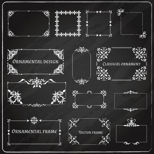 ornamental_design_corners_set