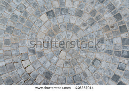 cobble_circular_pattern_block_pavement_texture_top_view