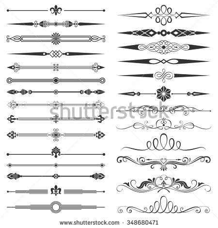 page_divider_and_design_elements_set