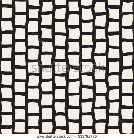 vector_seamless_black_and_white_hand_drawn_rectangle_pavement_pattern_abstract_freehand_background_design