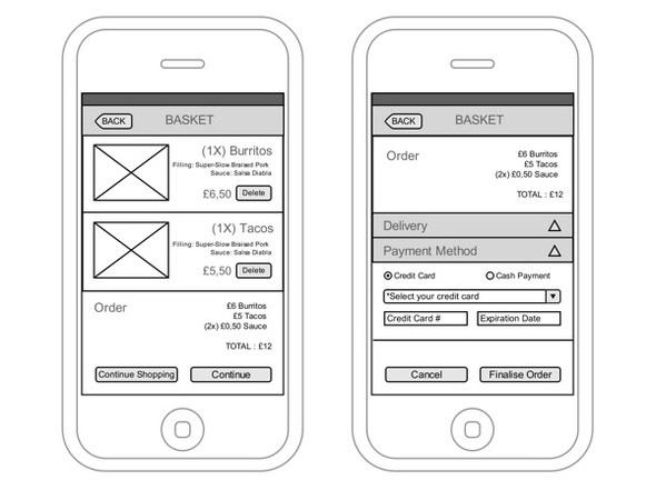 50+ Website & App Wireframe Examples