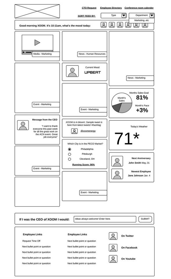 50  website  u0026 app wireframe examples