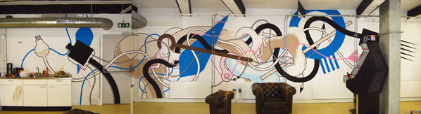 Awesome Wall Paintings and Concept Drawing by Daan Botlek