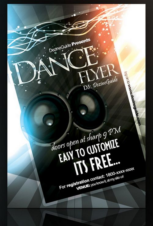 15 Free Party And Event Flyer PSD Templates XDesigns – Event Flyer Templates