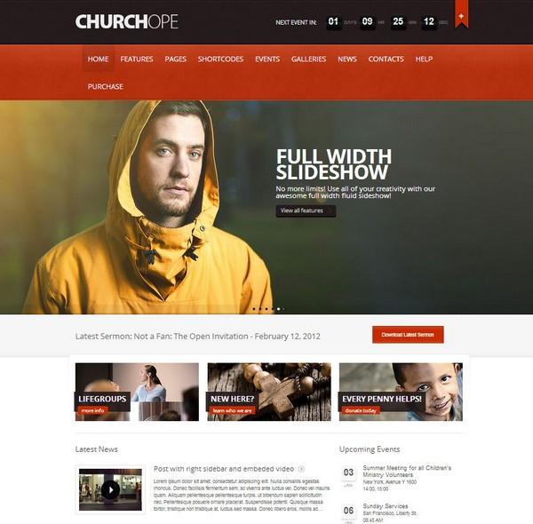 Best Church WordPress Themes