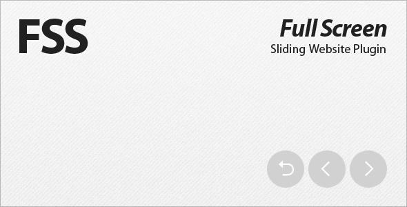 Powerful jQuery FullScreen Slider Plugins