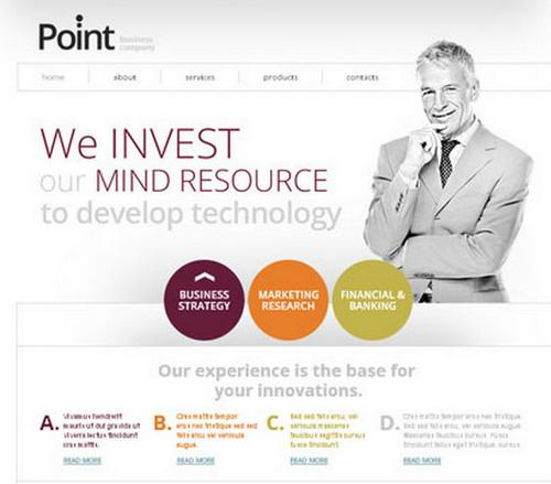Download 50 free csshtml business website templates xdesigns point free business template friedricerecipe Choice Image