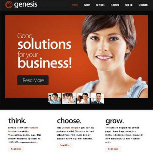 10 genesis business template1