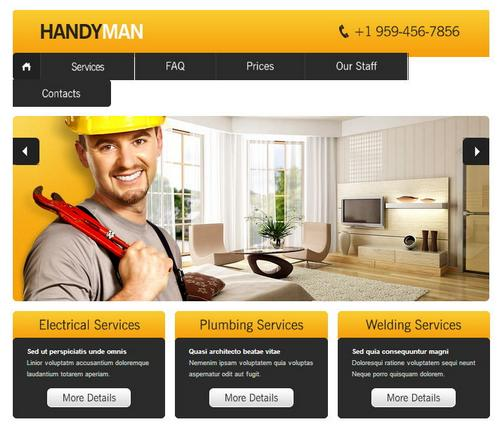 11 handyman business template1