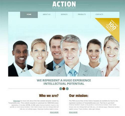 12 action business template1