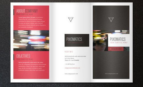 Download 10 beautiful and free brochure templates xdesigns for Online brochure templates free download
