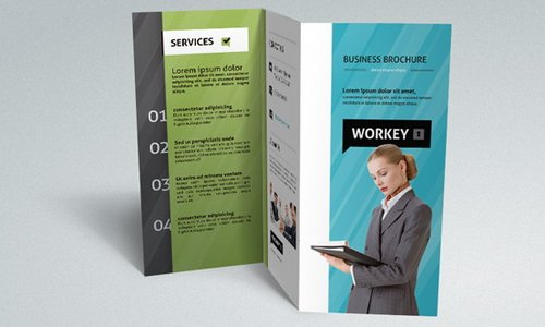 Download 10 beautiful and free brochure templates xdesigns free business brochure template accmission Images