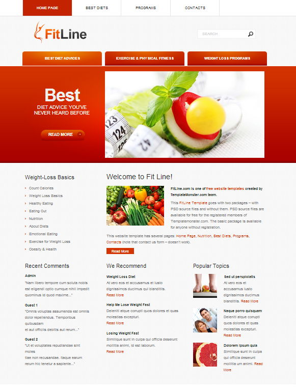 4 fitline web template1