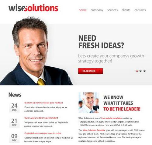 4 wise solution business template1