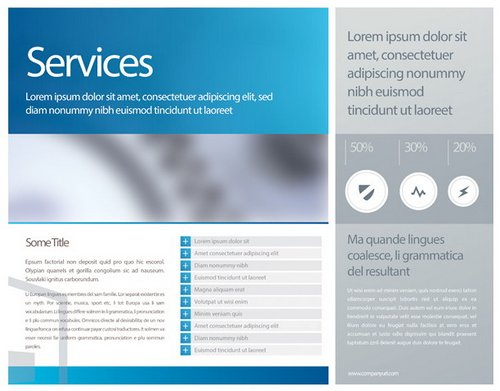 it services brochure template - download 10 beautiful and free brochure templates xdesigns