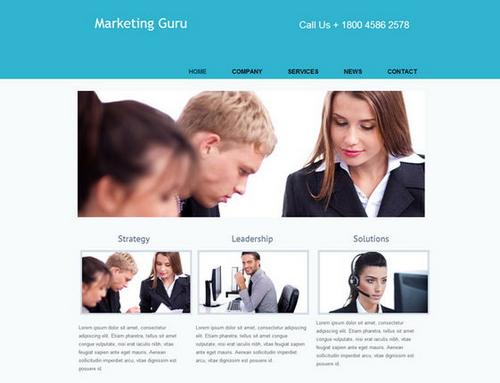 6 marketing guru business template1