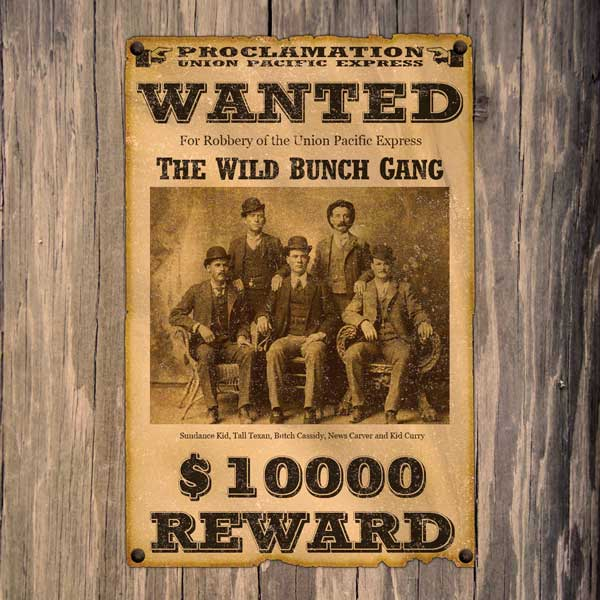 make wanted posters anuvratinfo – Free Wanted Poster Template Download