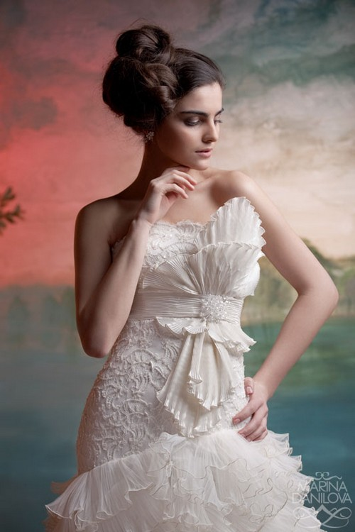 Beautiful Bridal Fashion Photography by Marina Danilova