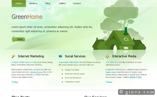 free website template 1031