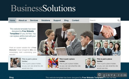 Download 50 free csshtml business website templates xdesigns 25 fbccfo Image collections