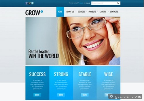 Download 50 free csshtml business website templates xdesigns 35 travel company website template wajeb Gallery