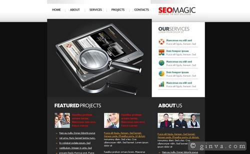 free website template 61