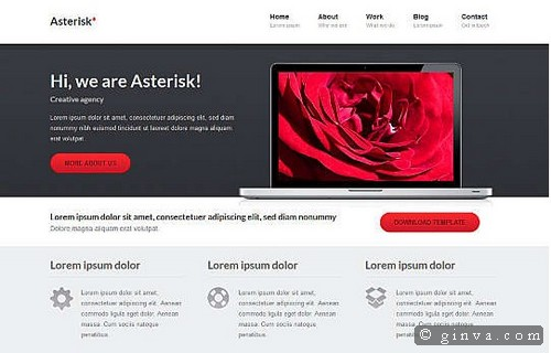 free website template 72