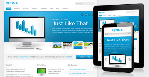 Download 50 free csshtml business website templates xdesigns 40 fbccfo