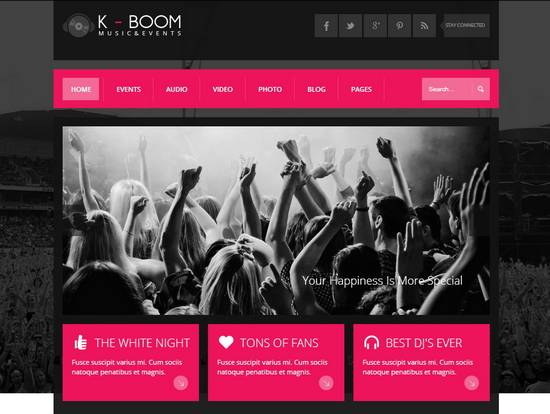 11 kboom events music