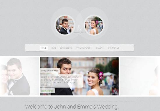 16 getting married responsive wordpress theme