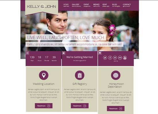 17 wordpress wedding theme