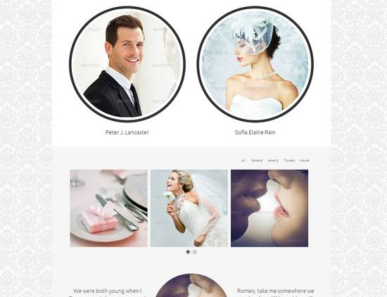 18 wedding multipurpose responsive template