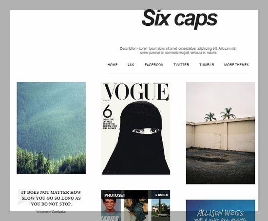 20 Free and Premium Tumblr Portfolio Themes - XDesigns