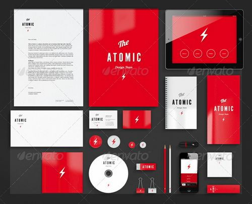 20 profesional corporate branding identity mock-up