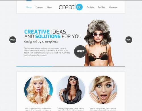 43 creatibe responsive html template