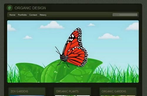 49 organic design template