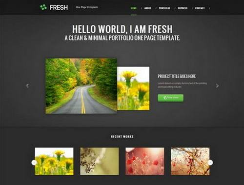 60 free and premium htmlcss portfolio templates xdesigns demo maxwellsz
