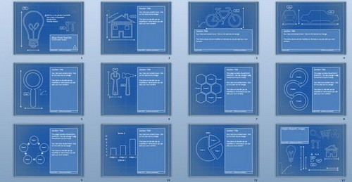engineering project free powerpoint templates