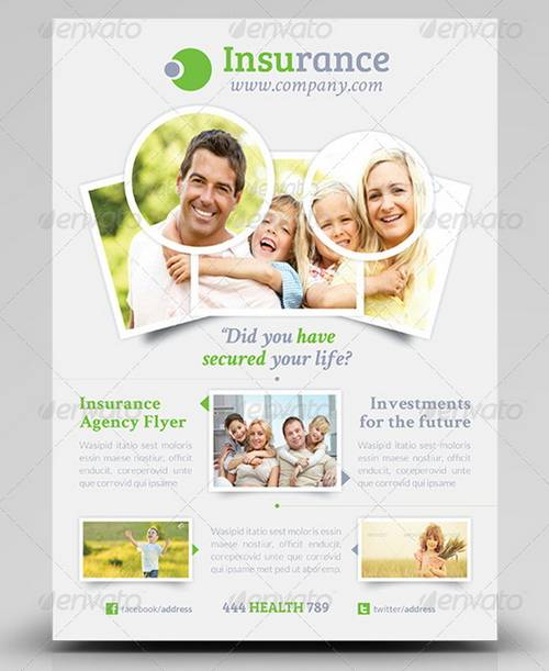 100 awesome flier or flyer templates xdesigns insurance agency flyer template fully layered psd business ads flyer friedricerecipe Gallery
