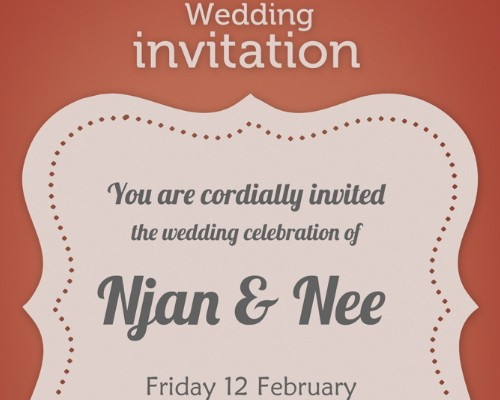 download 8 free wedding invitations template in psd - xdesigns, Invitation templates