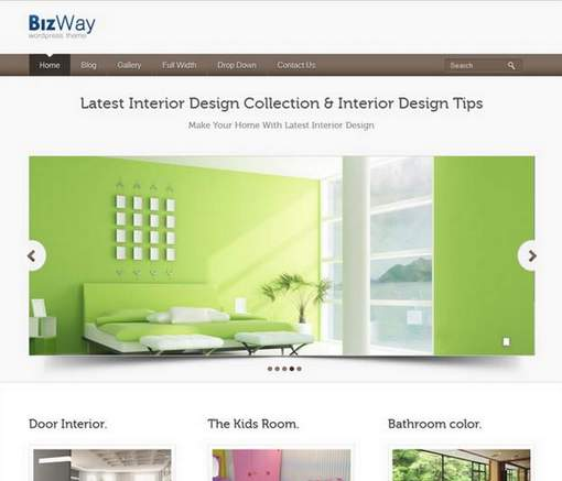 BizWay Business WordPress Theme