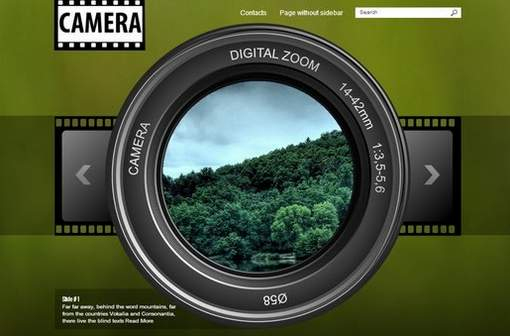 Free Camera Photography Theme