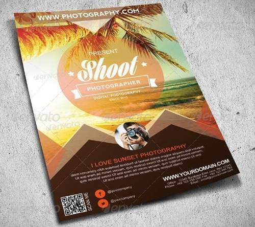Awesome Flier Or Flyer Templates XDesigns - Hotel flyer templates free download