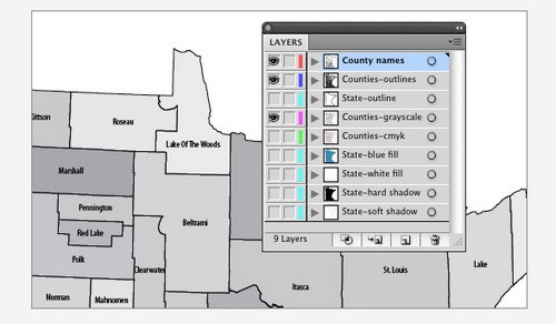 How to Use Multi-Layered Illustrator Artwork in InDesign