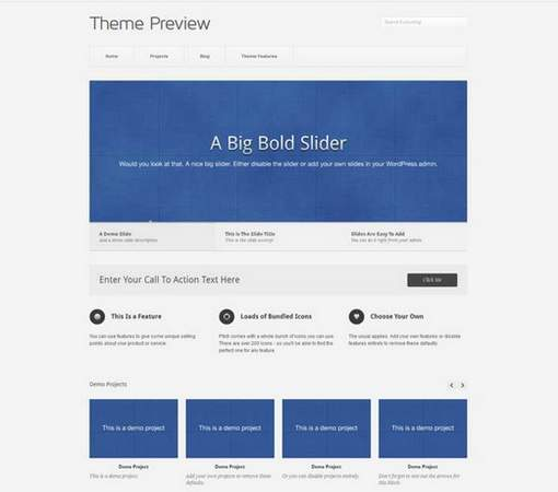 Pitch free portfolio theme