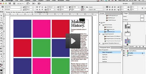 Scripting for Non-Scripters in Adobe InDesign (Video Tutorial)
