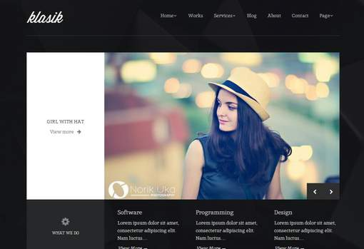 Klasik - Retina Responsive WordPress Theme