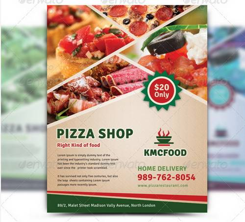 100 Awesome Flier or Flyer Templates XDesigns – Restaurant Flyers Templates